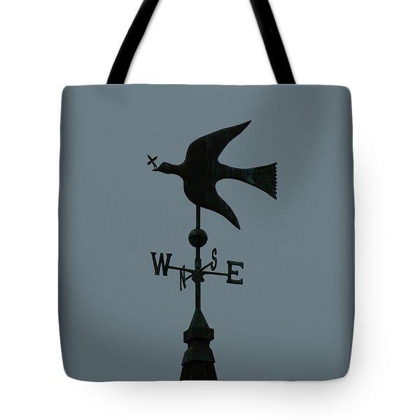 Dove Weathervane Tote Bag by Ernie Echols