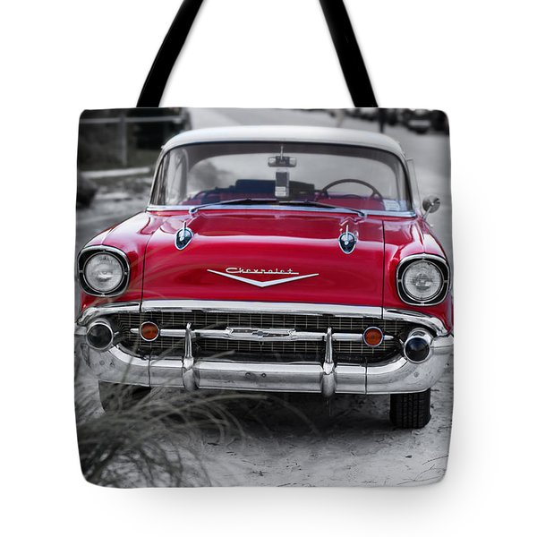 Down At The Shore Tote Bag by Edward Fielding