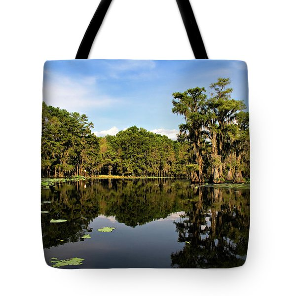 Down In The Bayou Tote Bag by Lana Trussell