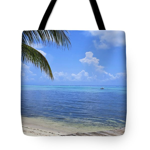 Down Island Tote Bag by Stephen Anderson
