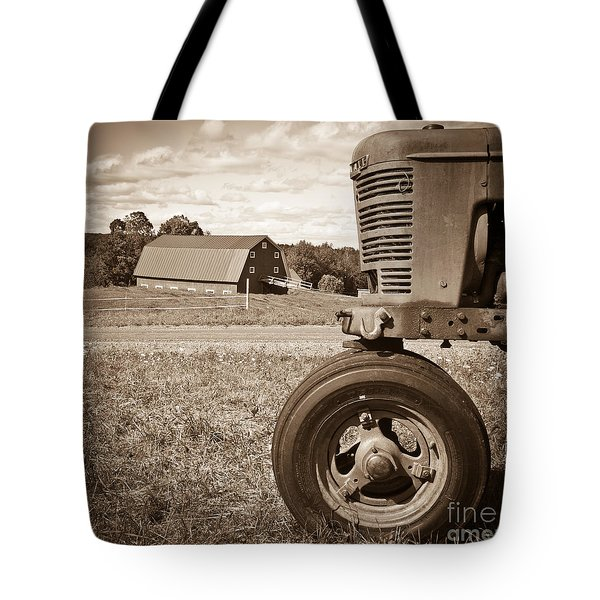 Down On The Farm Tote Bag by Edward Fielding