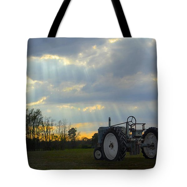 Down On The Farm Tote Bag by Mike McGlothlen