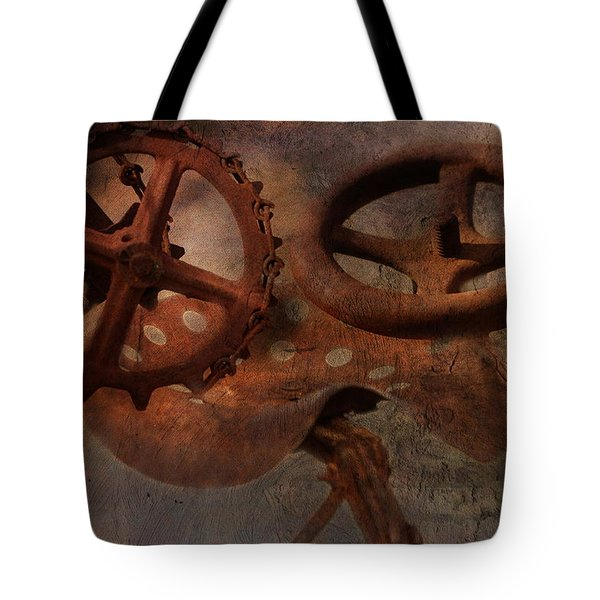Down On The Farm Tote Bag by Terry Fleckney