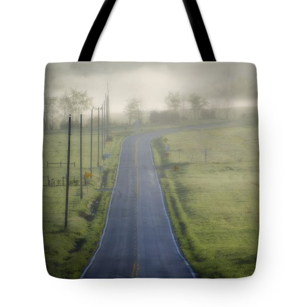 Down Roads Unknown Tote Bag by Bill Cannon