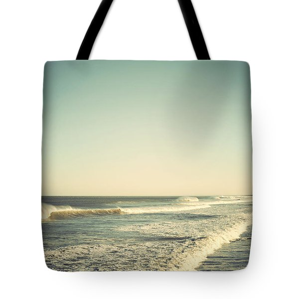 Down The Shore - Seaside Heights Jersey Shore Vintage Tote Bag by Terry DeLuco