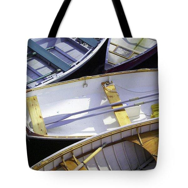 Downeast Gridlock Tote Bag by Brent L Ander