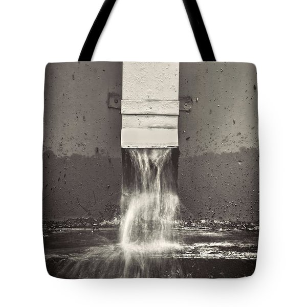 Downspout Tote Bag by Rudy Umans
