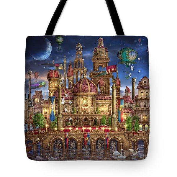 Downtown Tote Bag by Ciro Marchetti