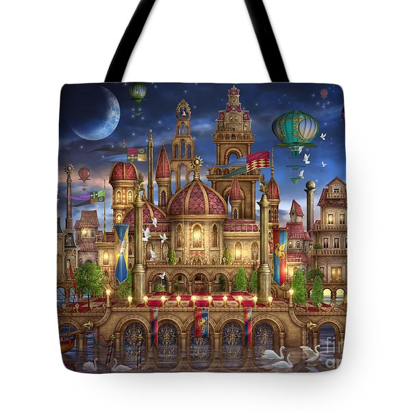 Downtown Tote Bag by Ciro Marchetti