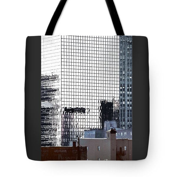 Downtown Newark Nj Tote Bag by Kellice Swaggerty