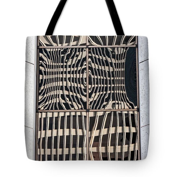 Downtown Reflection Tote Bag by Kate Brown