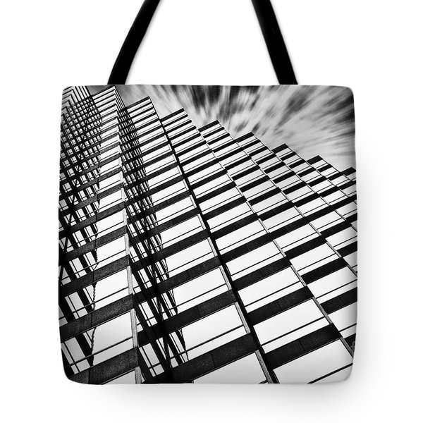 Downtown Tote Bag by Scott Pellegrin