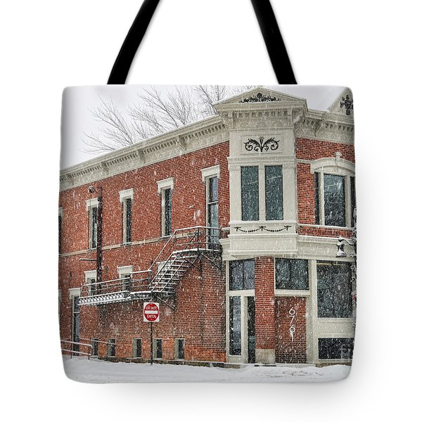 Downtown Whitehouse  7031 Tote Bag by Jack Schultz