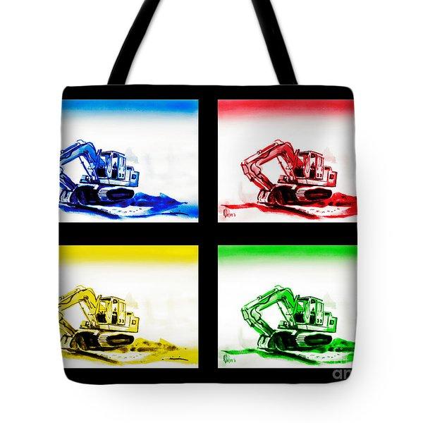 Dozer Mania Iv Tote Bag by Kip DeVore