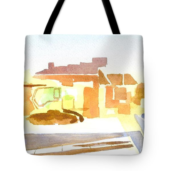 Dozing The Kozy    Tote Bag by Kip DeVore