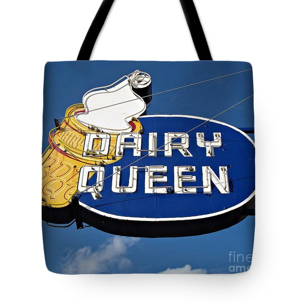 Dq Cone Sign Tote Bag by Ethna Gillespie