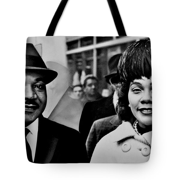 Dr and Mrs King Tote Bag by Benjamin Yeager