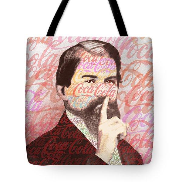 Dr. John Pemberton Inventor Of Coca-cola Tote Bag by Tony Rubino