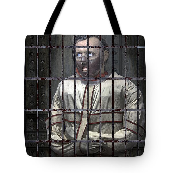 Dr. Lecter Restrained Tote Bag by Daniel Hagerman