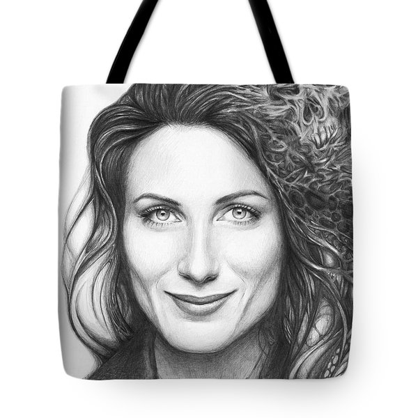 Dr. Lisa Cuddy - House Md Tote Bag by Olga Shvartsur