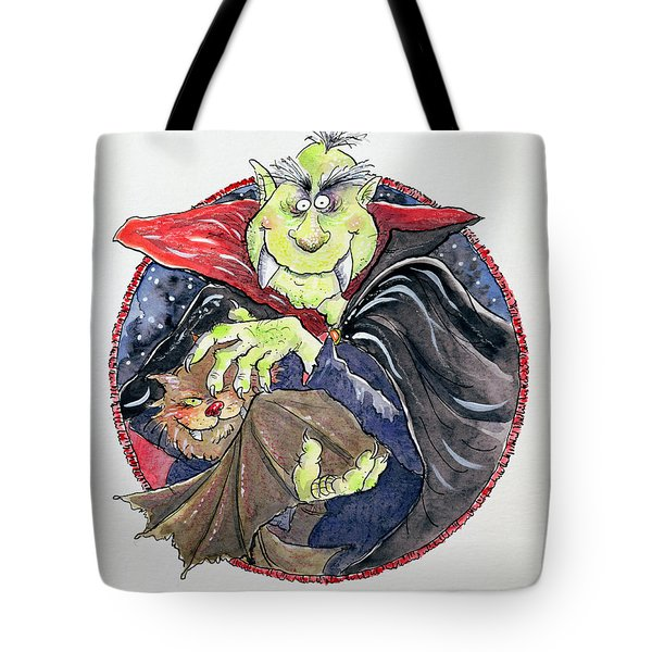 Dracula Tote Bag by Maylee Christie