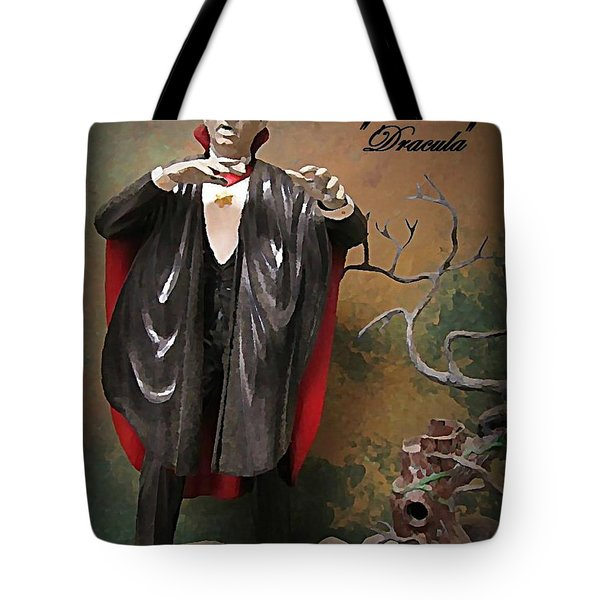 Dracula Model Kit Tote Bag by John Malone