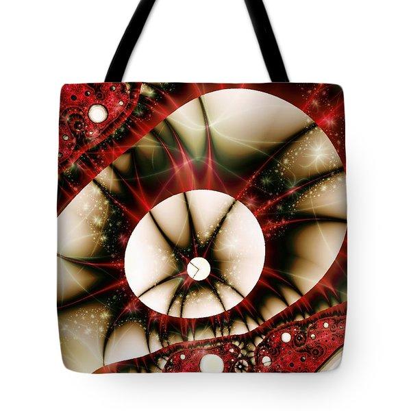 Dragon Eye Tote Bag by Anastasiya Malakhova