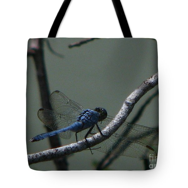 Dragonfly Tote Bag by Greg Patzer