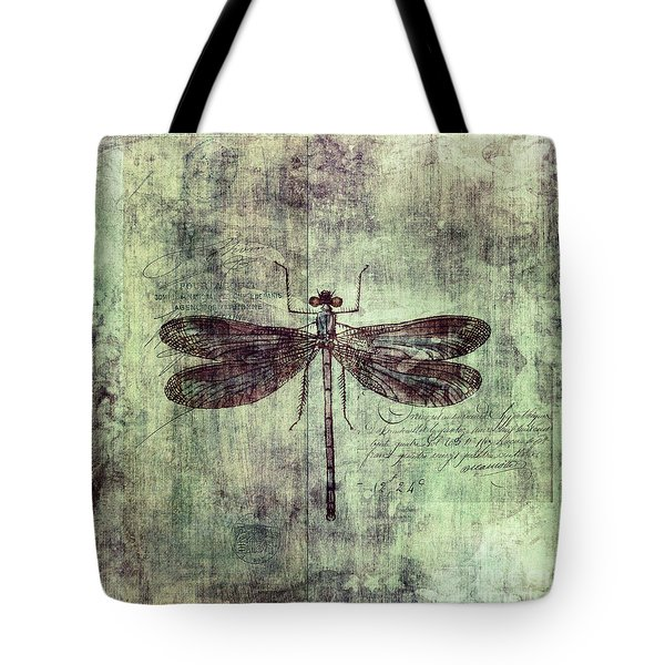 Dragonfly Tote Bag by Priska Wettstein