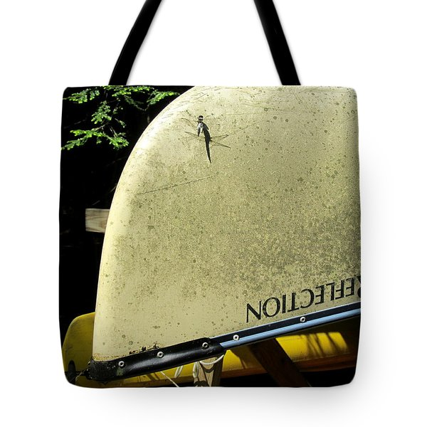 Dragonfly Resting Tote Bag by Avis  Noelle