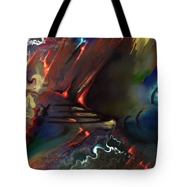 Dragonland Tote Bag by Francoise Dugourd-Caput