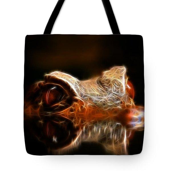 Dragons Lair Tote Bag by Steve McKinzie