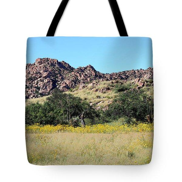 Dragoon Mountains Tote Bag by Joe Kozlowski