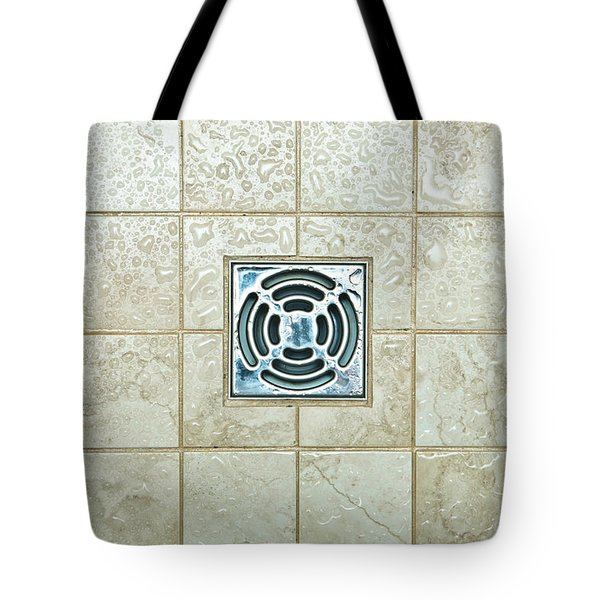 Drain Hole Tote Bag by Tom Gowanlock