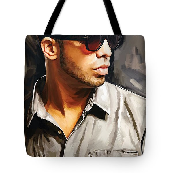 Drake Artwork 2 Tote Bag by Sheraz A