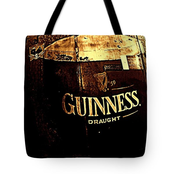 Draught  Tote Bag by Chris Berry