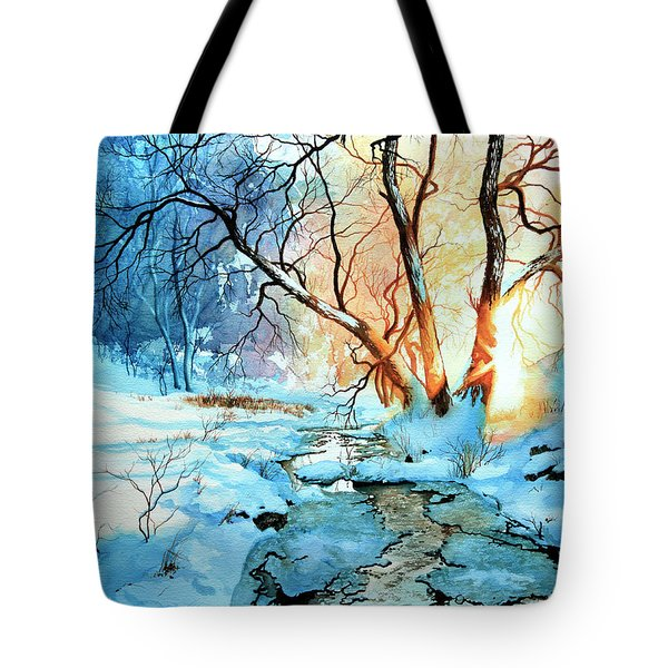 Drawn To The Sun Tote Bag by Hanne Lore Koehler