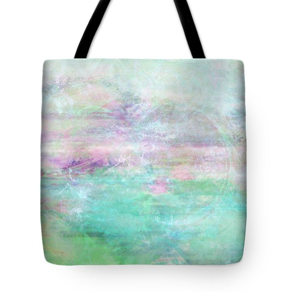 Dream - Abstract Art Tote Bag by Jaison Cianelli