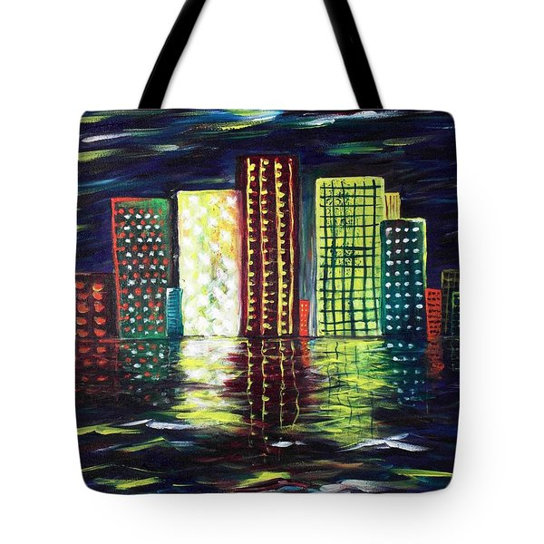 Dream City Tote Bag by Anastasiya Malakhova