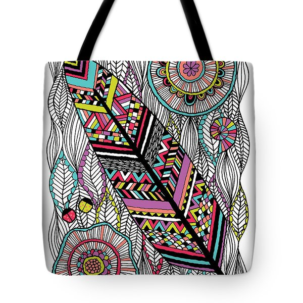 Dream Feather Tote Bag by Susan Claire