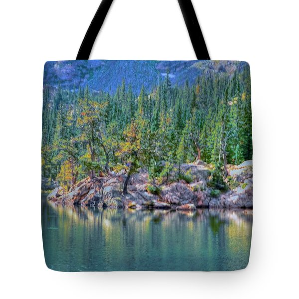 Dream Lake Tote Bag by Kathleen Struckle