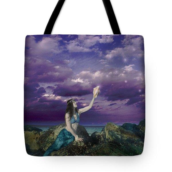 Dream Mermaid Tote Bag by Alixandra Mullins