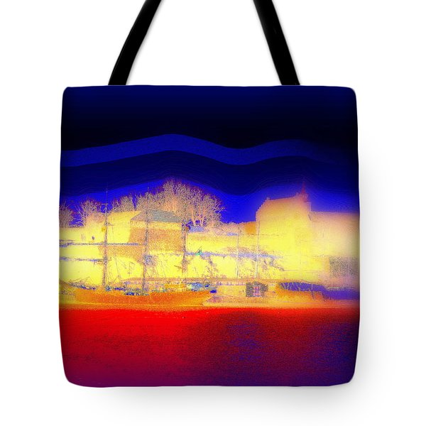 Dream Of A Castle Tote Bag by Hilde Widerberg