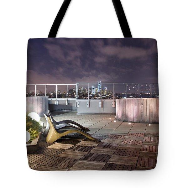 Dream On Until Tomorrow Tote Bag by Evelina Kremsdorf