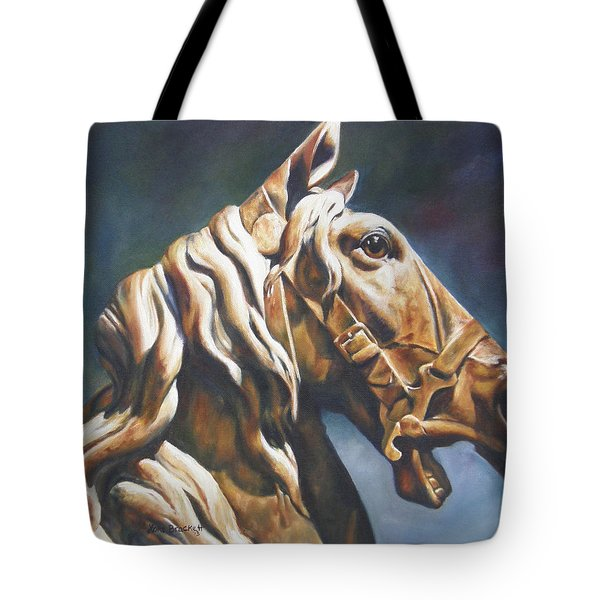 Dream Racer Tote Bag by Lori Brackett