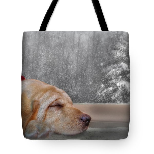 Dreamin' Of A White Christmas 2 Tote Bag by Lori Deiter