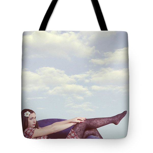 dreaming to fly Tote Bag by Joana Kruse