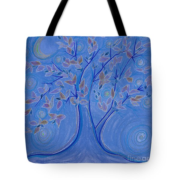 Dreaming Tree By Jrr Tote Bag by First Star Art