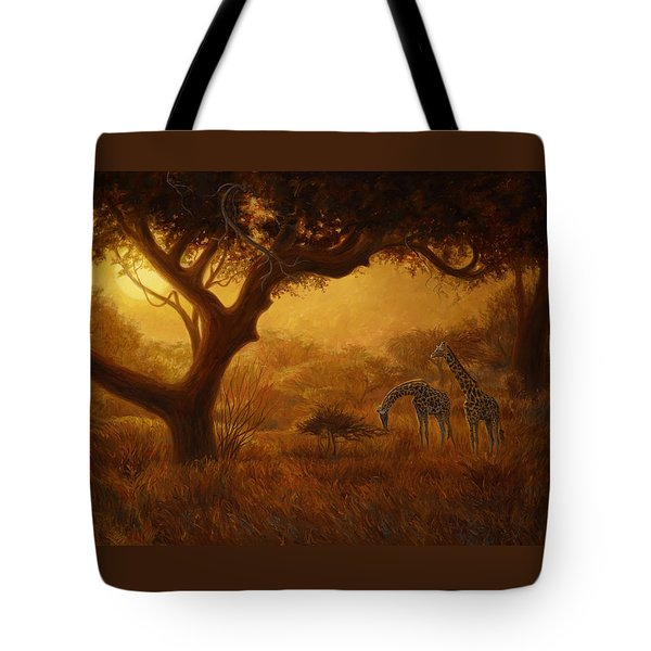 Dreamland Tote Bag by Lucie Bilodeau