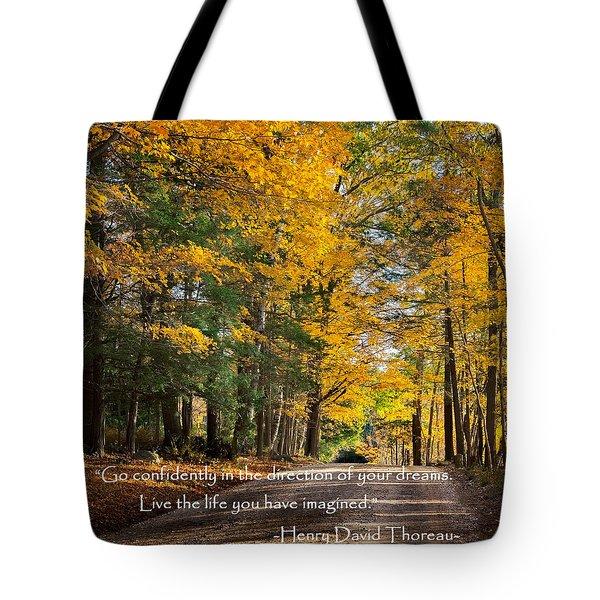 Dreams Tote Bag by Bill  Wakeley